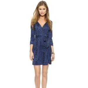 DIANE von FURSTENBERG  Silk Jersey Wrap Dress